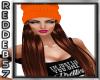 Orange Beanie Red Hair