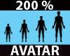Avi Scaler Resize200%M+F