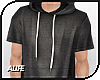 A| Long Hooded Tee v.5