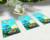 :3 Yoga Towel Animated
