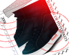 Navy Designer Sneakers