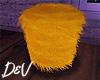 !D Yellow Fur Stool