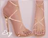 Blossom Strap Heels