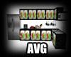 AVG townhome kitchen