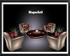 ~MG~Cream & Spice Chairs