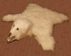 Bear Skin Rug White