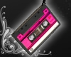 Cassette Earrings [pink]