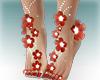 ::Z::Feet Red flowers v1