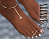 French Pedicure & Anklet