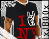 :SSF:iRock NY V-Neck-Red