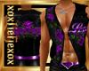 [L] LOVE Purple Vest M