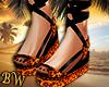 Leopard Sandals -G