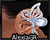 [A] Silk Blue Butterfly