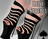 cat~ Let's Stripes Heels