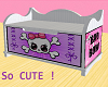 Kids Goth Girly Toy Box