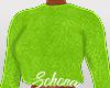 ṩFuzzy Sweater Neon