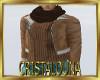 Winter brown jacket + sc