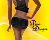 Blk Daisy Dukes