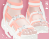 n  Trendy Shoes Peach