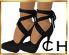 CH kira Black Sandal