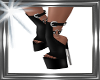 !  chain leather  boots