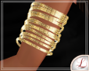 [L] Gold Bracelets L