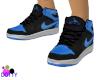 blue kicks