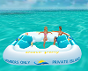 Beach Party Chat Float