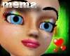 *mema* Rainbow eyeshadow