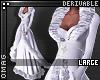 0   Fur Jacket Dress L