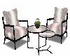 MOdern Chairs w Table