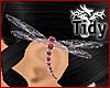 [T] DragonFly Earring RL