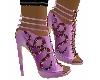 zapato rosa fucci