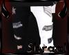 S| Patch Jeans - B/W