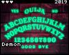 ◇Ouija Neon Sign TQ