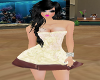 sexy creamy dress