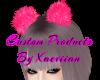 Barbie Pink Hair PomPoms
