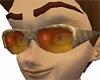 Glasses Slicker Bronzed