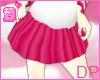 [DP] School Skirt Pink