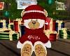 Xmas Stuffy Bear Gift