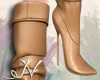 N. Light Brown Boots