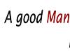 A Good Man Sticker
