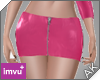 ~AK~ PVC Skirt: Pink