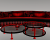A~Black-Red Romance Sofa