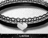 L: PVC Heart Collar M