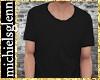 Casual black t-shirt