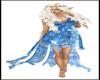 Blue Flower Dress Fae