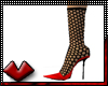 (V) RedHot Fishnet Pumps