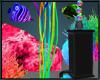Neon Fish Tank Pump