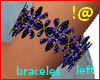 !@ Blue Bracelet left
